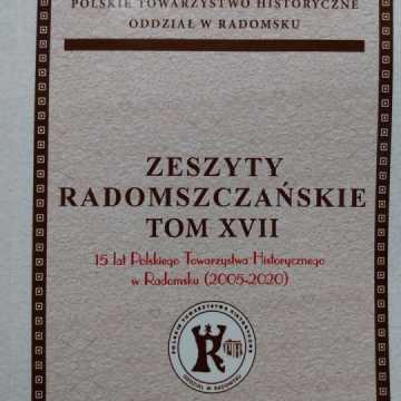 """Już jest najnowszy tom """"Zeszytów Radomszczańskich"""". Książkę można otrzymać w Muzeum Regionalnym w Radomsku"""