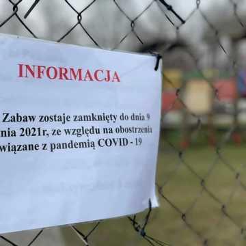 Place zabaw w Radomsku zamknięte