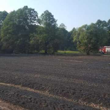 Spłonęło 5 hektarów ścierniska