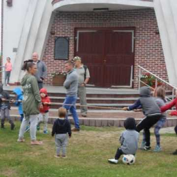 Bawili się na festynie parafialnym
