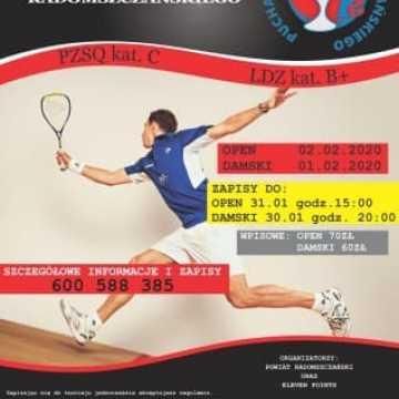 Turniej Squasha już w ten weekend