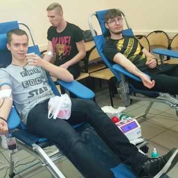 Oddali krew dla Janusza Kamińskiego