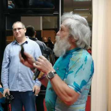Znany podróżnik Aleksander Doba odwiedził Radomsko