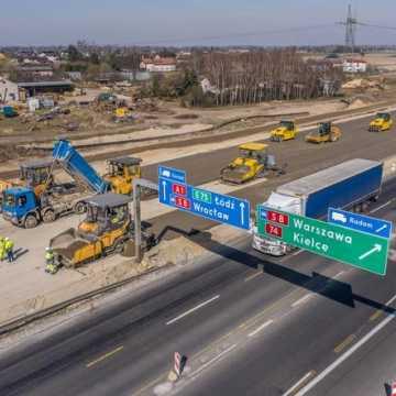 Przez 5 dni na węźle Tuszyn – Piotrków Tryb. Południe będą występować utrudnienia