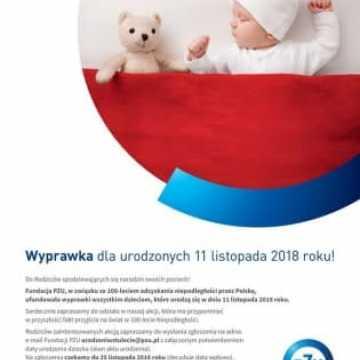 Wyprawka dla dzieci urodzonych 11 listopada