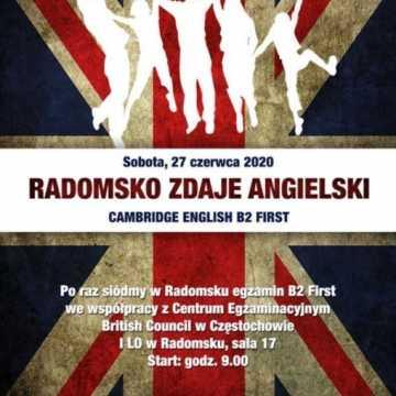 """""""Radomsko Zdaje Angielski"""" bez gali finałowej"""