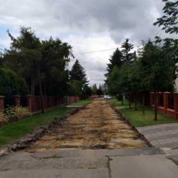 Remont ulicy Leśniej