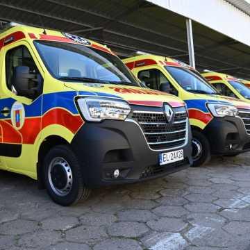 Nowe miejsca stacjonowania karetek i kolejne ambulanse dla Łódzkiego