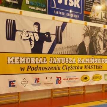Ciężarowcy upamiętnili Janusza Kamińskiego