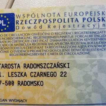 Koniec problemów z rejestracją pojazdów w Radomsku