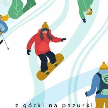 """""""Z górki na pazurki – moje ferie"""" - konkurs plastyczny MBP w Radomsku"""