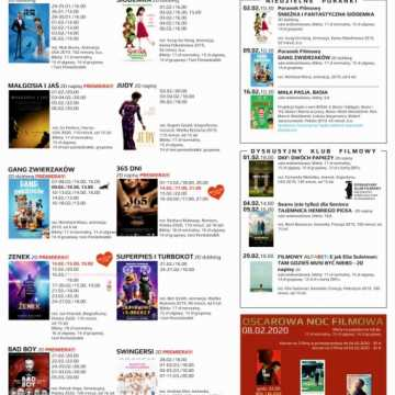 Kino MDK zaprasza. Repertuar od 7 do 13 lutego