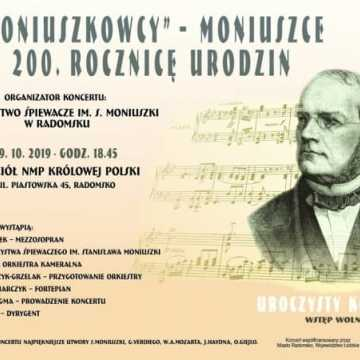 Koncert w rocznicę urodzin Stanisława Moniuszki