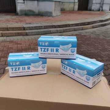 Darmowe maseczki dla mieszkańców Stobiecka Miejskiego w Radomsku