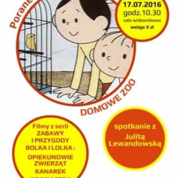 Poranek filmowy w MDK: Zabawy i Przygody Bolka i Lolka