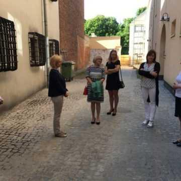 Wizyta gości z miast partnerskich