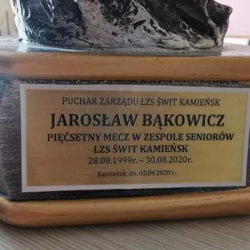 500 meczów Jarosława Bąkowicza w barwach Świtu Kamieńsk