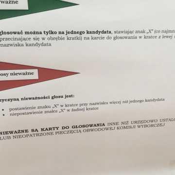 Radomsko głosuje w wyborach prezydenckich. Kolejki przed lokalami  wyborczymi