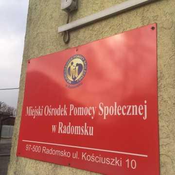 Pracownicy MOPS w Radomsku proszą mieszkańców o czujność
