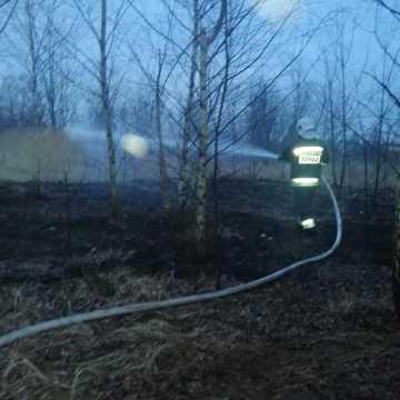 Bezdomny spowodował pożar?