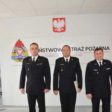 Artur Bartosik dowódcą Jednostki Ratowniczo-Gaśniczej w KPPSP w Radomsku