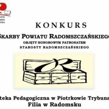 """Konkurs. """"Skarby Powiatu Radomszczańskiego"""""""