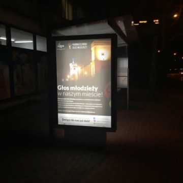 Citylight na przystankach w Radomsku