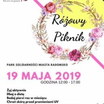 Różowy Piknik w parku Solidarności