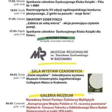 Kulturalny przewodnik na marzec 2020 r.