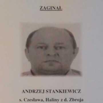 [AKTUALIZACJA] Policjanci proszą o pomoc w odnalezieniu mieszkańca Radomska – Andrzeja Stankiewicza