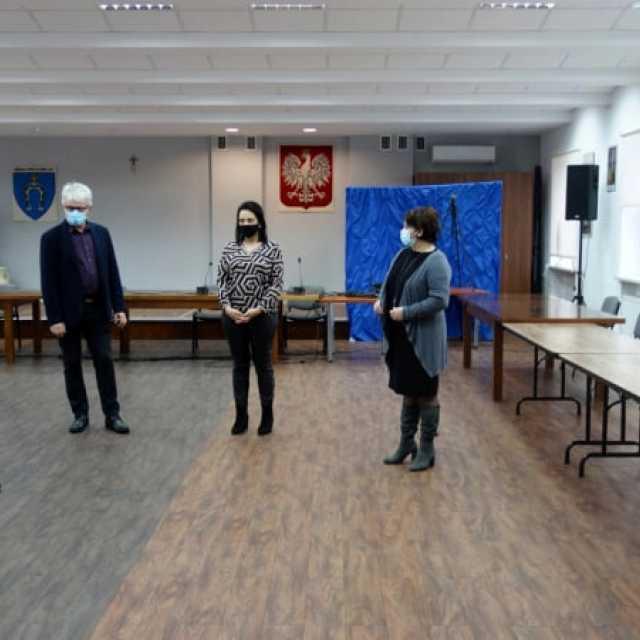 """""""Zdalna Szkoła+"""" w Wielgomłynach"""