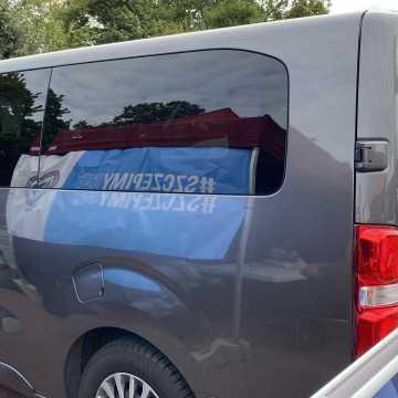 Szczepieniobus zaparkował w Radomsku
