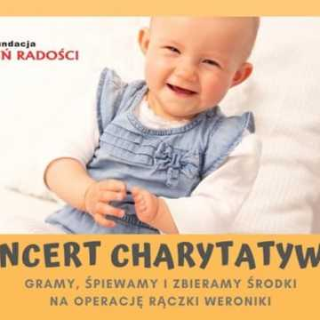 Koncert charytatywny Fundacji Promień Radości 1 grudnia w MDK w Radomsku