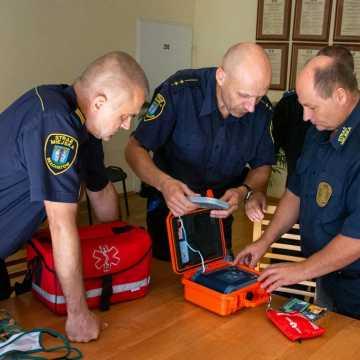 Bełchatów: strażnicy szkolą się z pierwszej pomocy