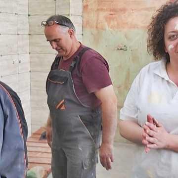 Bełchatów: nauczyciele CKZ własnoręcznie wyremontowali pracownię