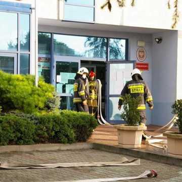 Pożar w kotłowni Sądu Rejonowego w Radomsku