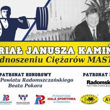 I Memoriał Janusza Kamińskiego w Podnoszeniu Ciężarów Masters