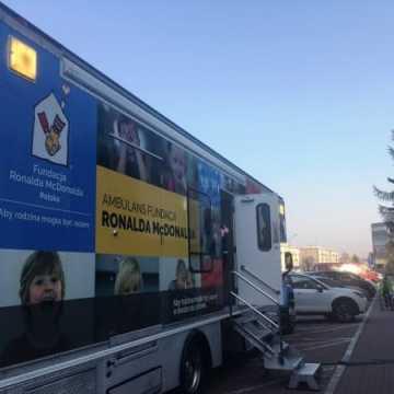 Bezpłatne badania USG dla dzieci w ambulansie Ronalda McDonalda