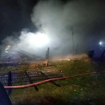 Kolejny pożar w gminie Wielgomłyny. Znów podpalenie...