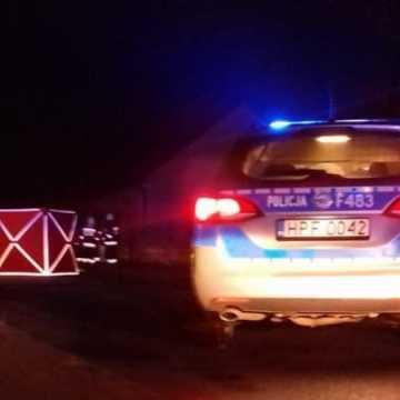 Śmiertelny wypadek w gminie Gomunice