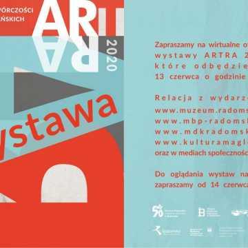 Wirtualne otwarcie wystawy ARTRA 2020