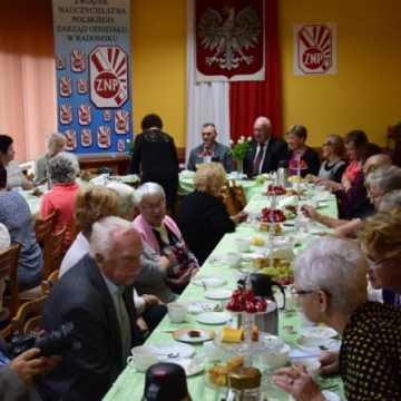 Emeryci i Renciści z ZNP Radomsko świętowali Dzień Edukacji Narodowej