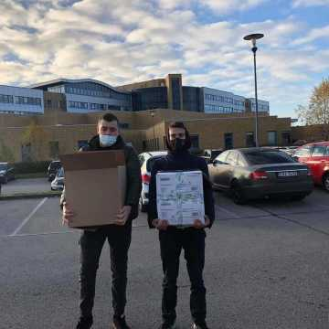 Uczniowie Mechanika prowadzą zbiórkę na rzecz Szpitala Powiatowego w Radomsku