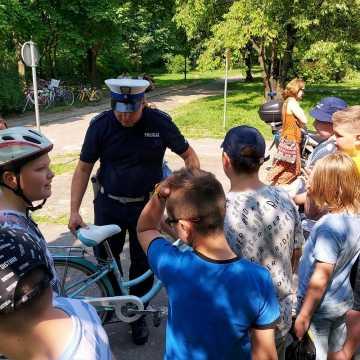 Młodzi radomszczanie zdawali egzamin na kartę rowerową