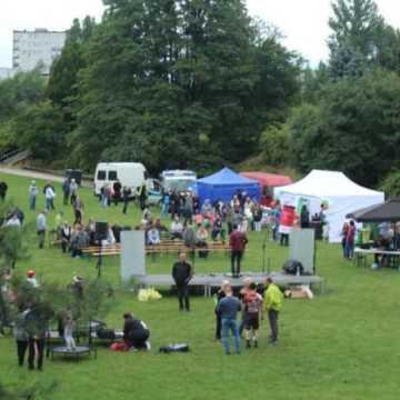 Szklana niedziela w Parku Solidarności