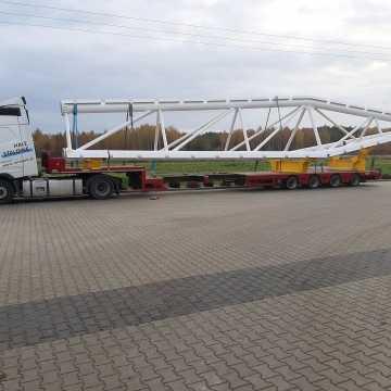 Kolejny transport ładunków nadgabarytowych przejedzie autostradą A1