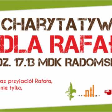 Koncert charytatywny dla Rafała Garbaciaka