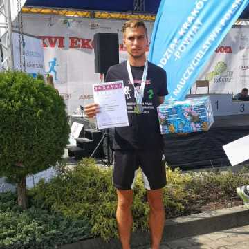 Sukces radomszczańskiego nauczyciela podczas Mistrzostw Polski Nauczycieli w Półmaratonie