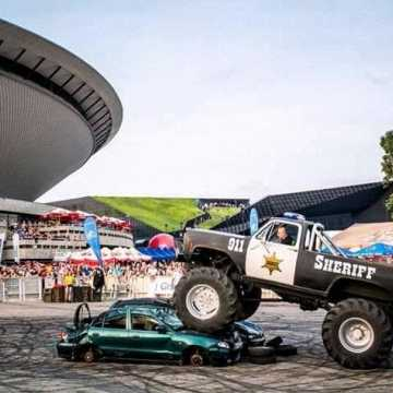 Emocje gwarantowane: Pokazy kaskaderskie i monster truck w Radomsku
