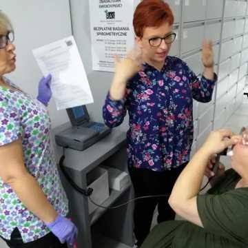 Radomszczanie badają płuca. Ruszyła bezpłatna spirometria